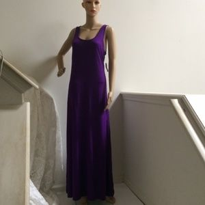 Old Navy Maxi Dress Purple NWT
